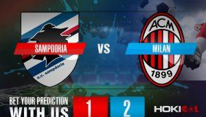 Prediksi Bola Sampdoria Vs Milan 7 Desember 2020