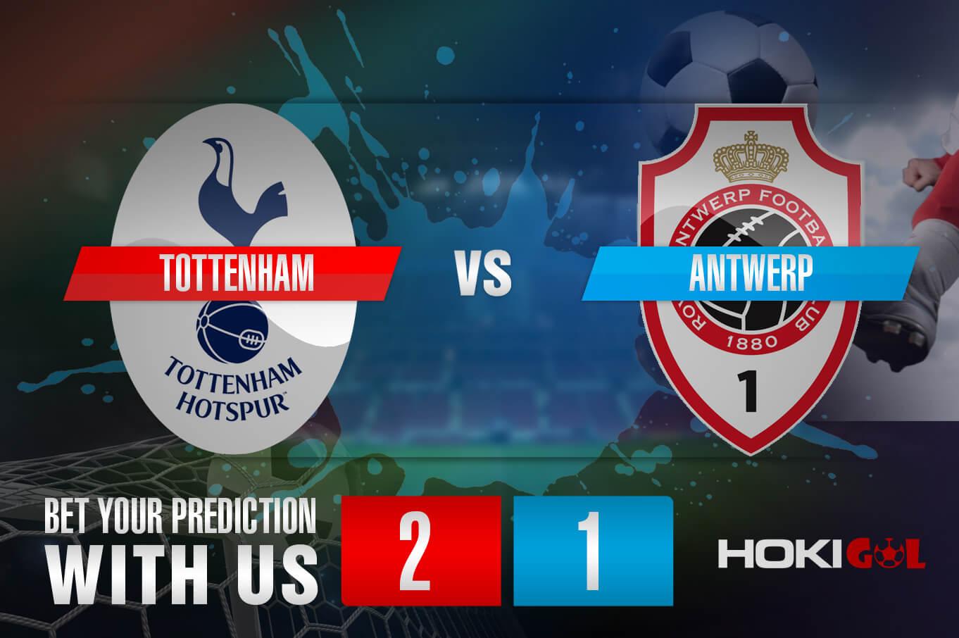 Prediksi Bola Tottenham Vs Antwerp 11 Desember 2020