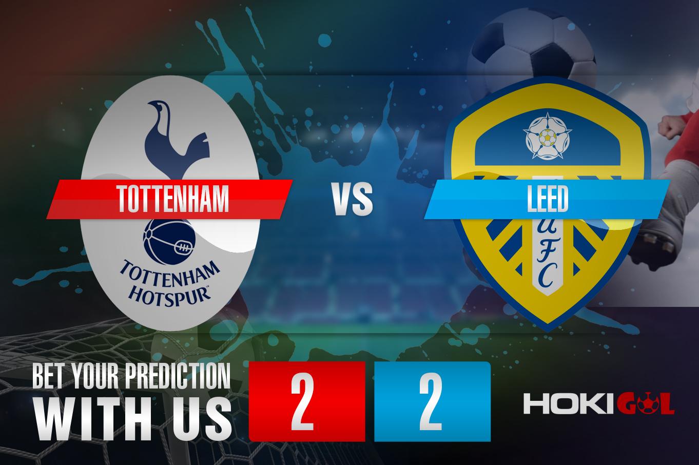 Prediksi Bola Tottenham Vs Leed 2 Januari 2021