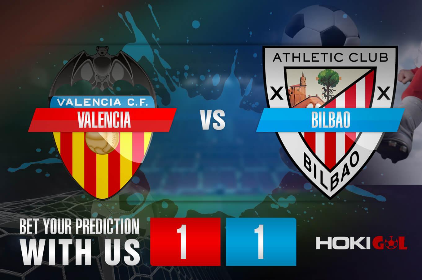 Prediksi Bola Valencia Vs Bilbao 12 Desember 2020