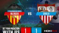 Prediksi Bola Valenciea Vs Sevilla 22 Desember 2020