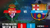 Prediksi Bola Valladolid Vs Barcelona 23 Desember 2020