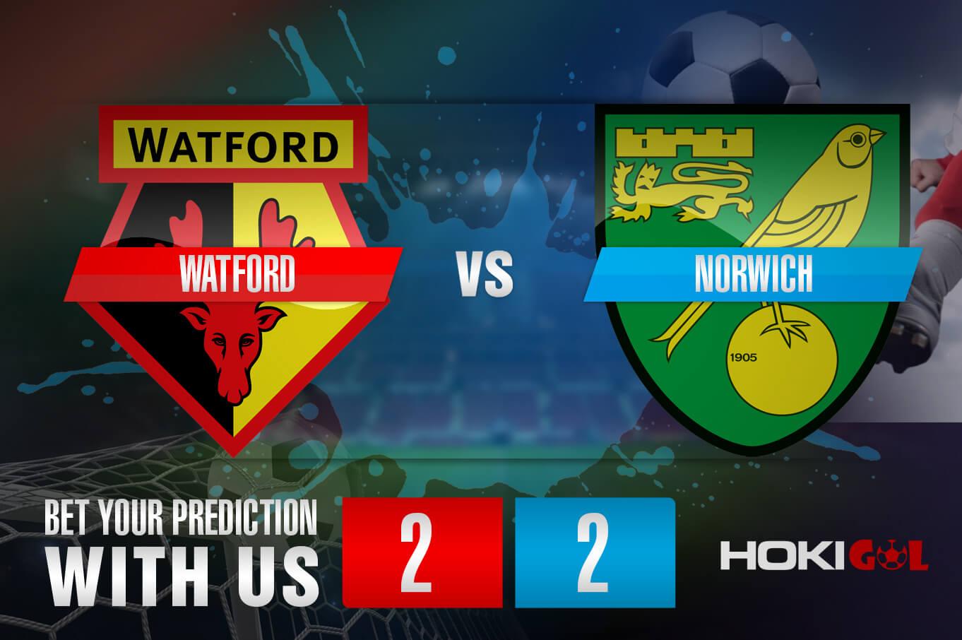 Prediksi Bola Watford Vs Norwich 27 Desember 2020