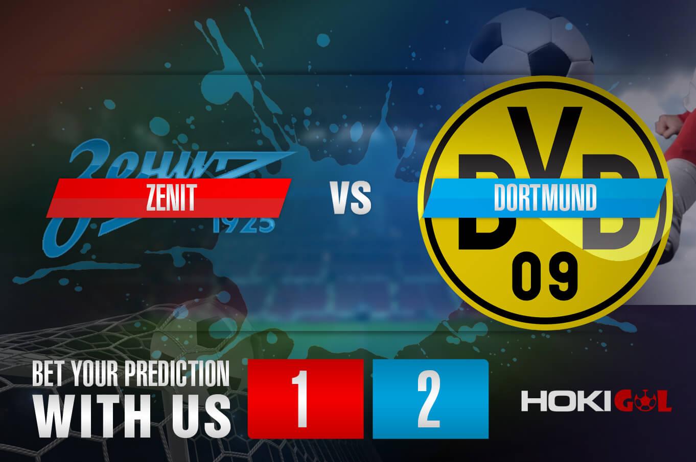 Prediksi Bola Zenit Vs Dortmund 9 Desember 2020