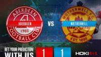 Prediksi Bola Aberdeen Vs Motherwell 23 Januari 2021