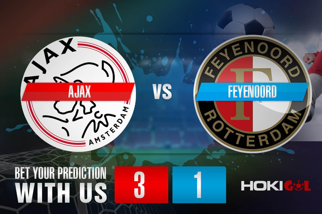 Prediksi Bola Ajax Vs Feyenoord 17 Januari 2021