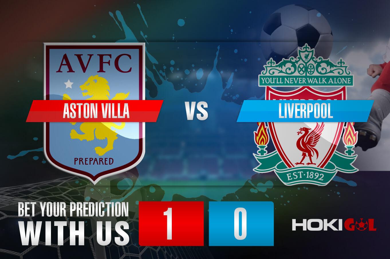 Prediksi Bola Aston Villa Vs Liverpool 9 Januari 2021