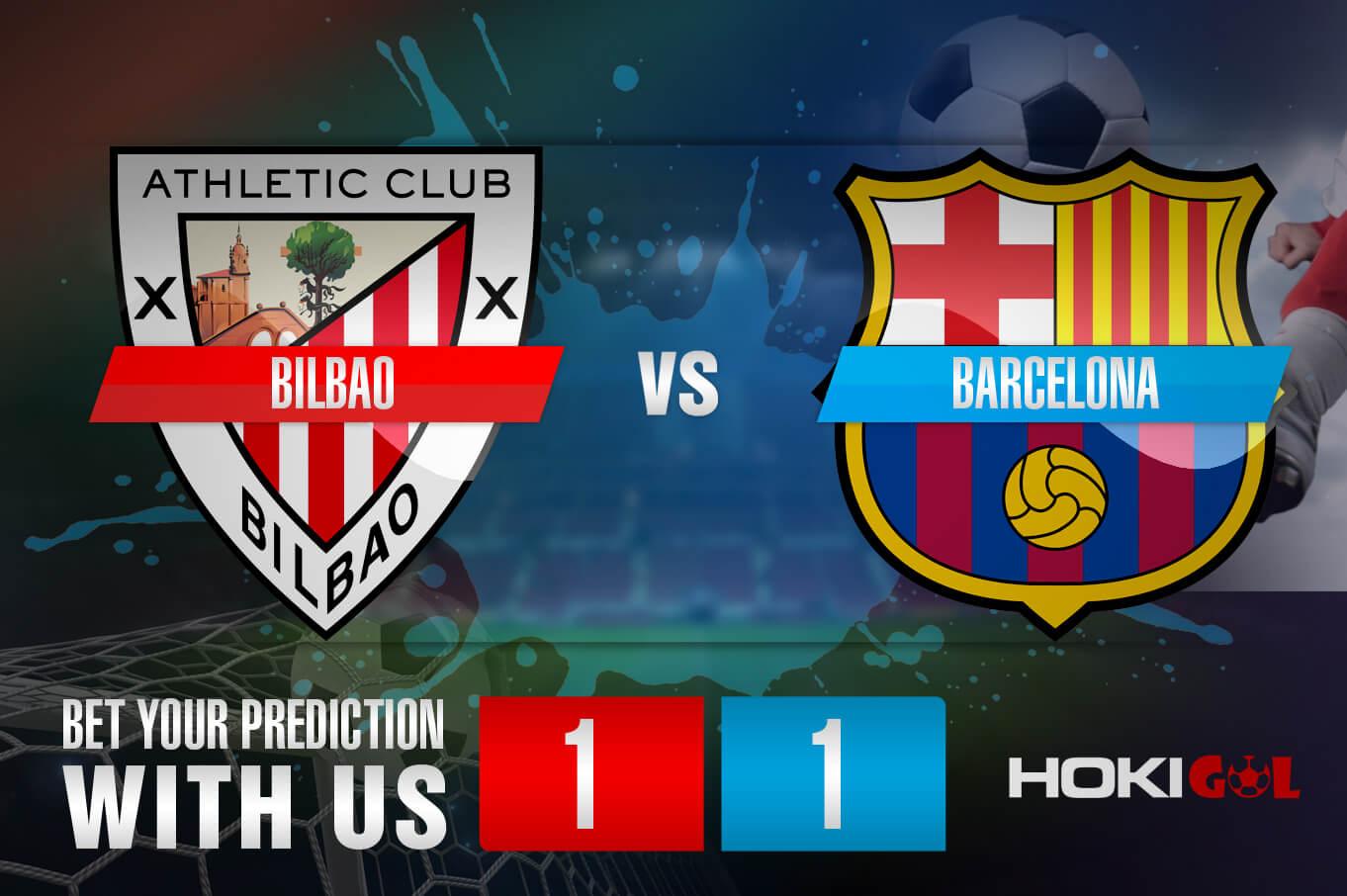 Prediksi Bola Bilbao Vs Barcelona 7 Januari 2021