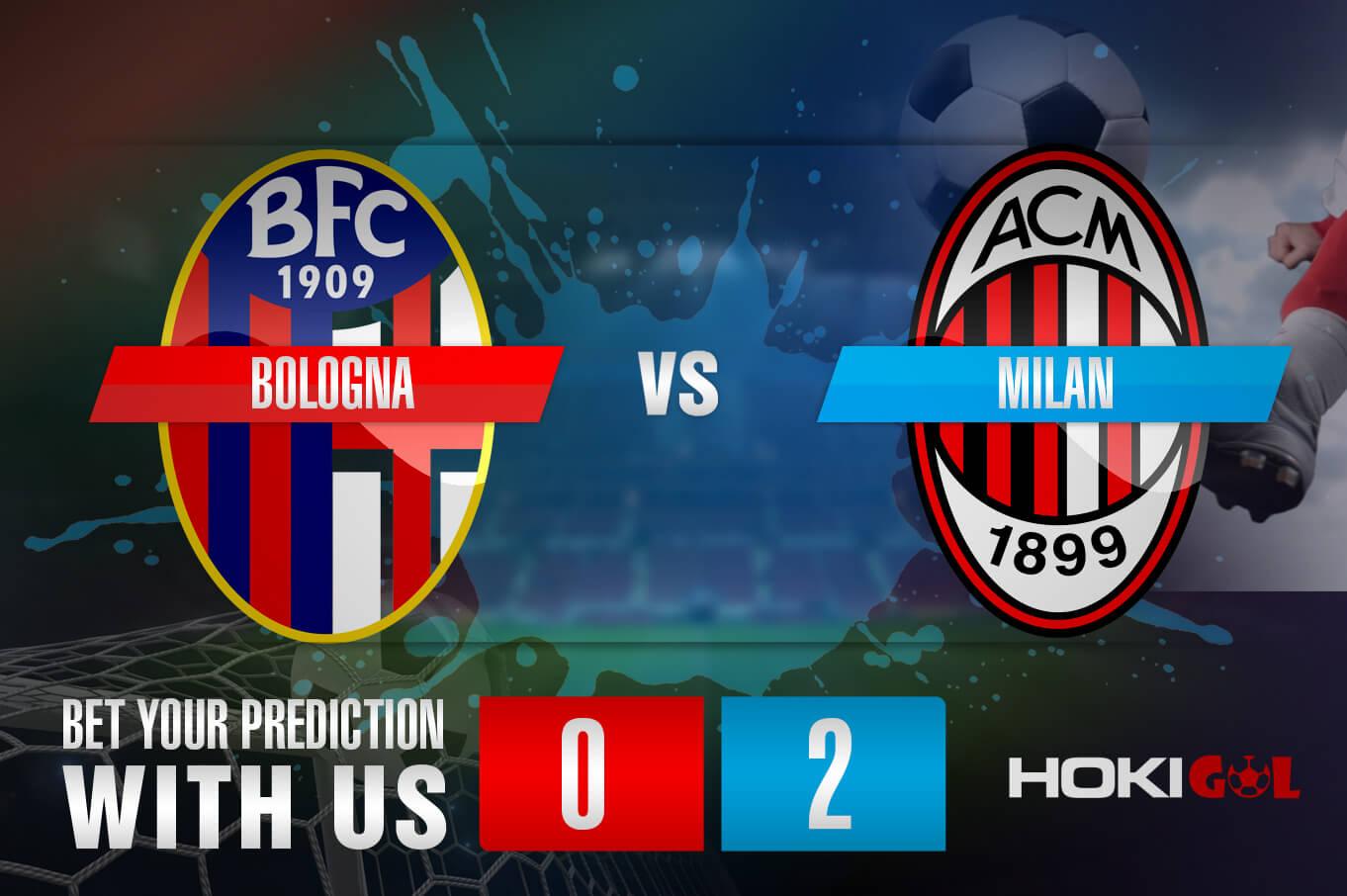 Prediksi Bola Bologna Vs Milan 30 Januari 2021