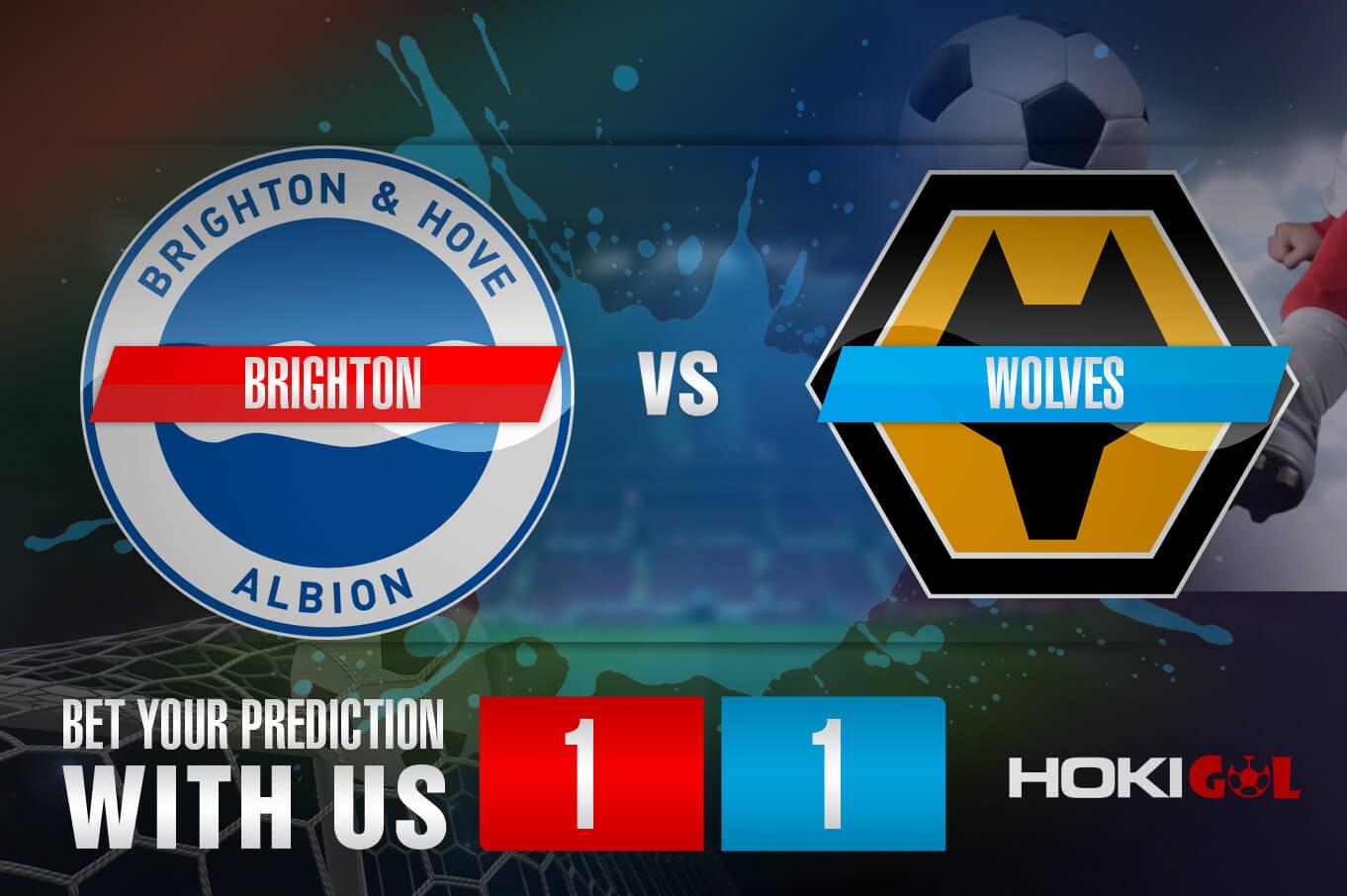 Prediksi Bola Brighton Vs Wolves 3 Januari 2021