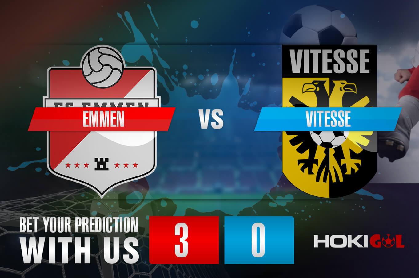 Prediksi Bola Emmen Vs Vitesse 16 Januari 2021