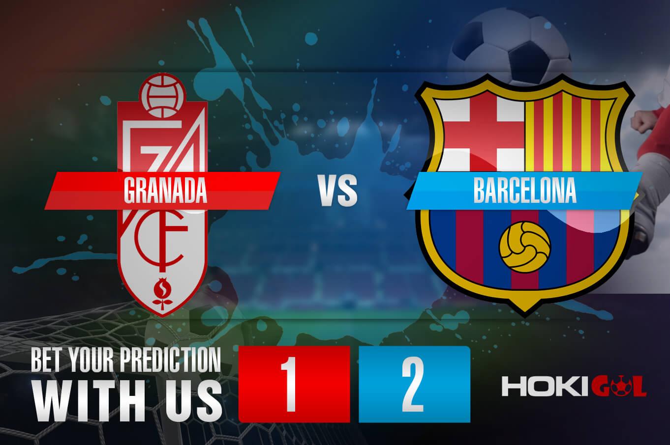 Prediksi Bola Granada Vs Barcelona 10 Januari 2021