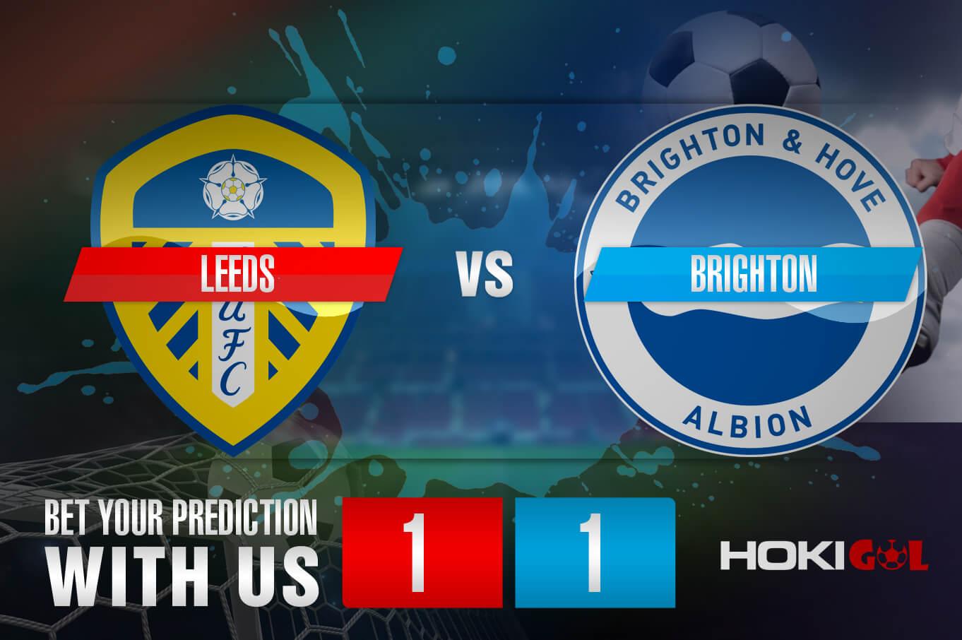 Prediksi Bola Leeds Vs Brighton 16 Januari 2021