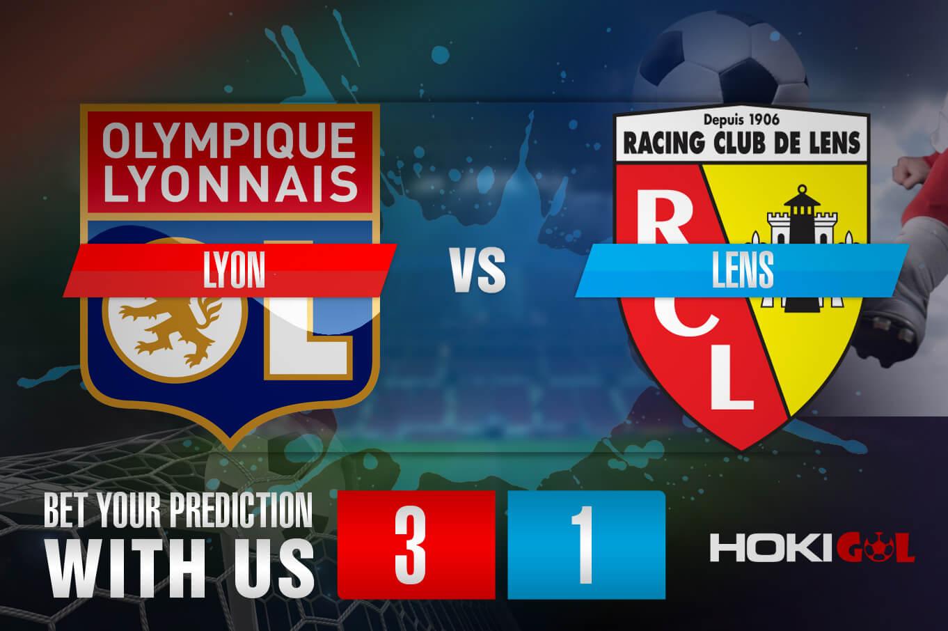 Prediksi Bola Lyon Vs Lens 7 Januari 2021