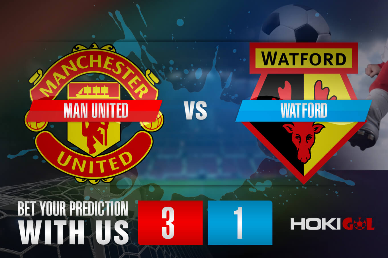 Prediksi Bola Man United Vs Watford 10 Januari 2021