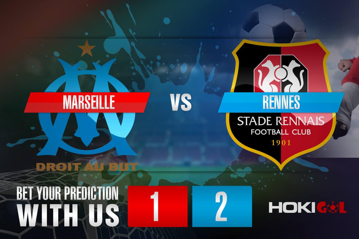 Prediksi Bola Marseille Vs Rennes 31 Januari 2021