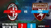 Prediksi Bola Milan Vs Torino 10 Januari 2021