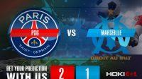 Prediksi Bola PSG Vs Marseille 14 Januari 2021