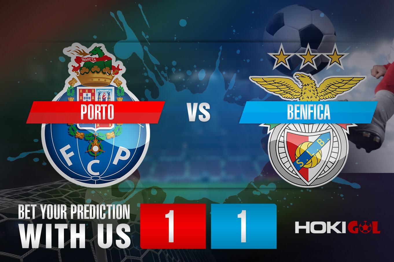 Prediksi Bola Porto Vs Benfica 16 Januari 2021