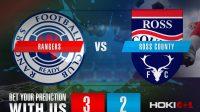 Prediksi Bola Rangers Vs Vs Ross County 23 Januari 2021