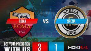 Prediksi Bola Roma Vs Spezia 23 Januari 2021