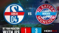 Prediksi Bola Schalke Vs Munchen 24 Januari 2021