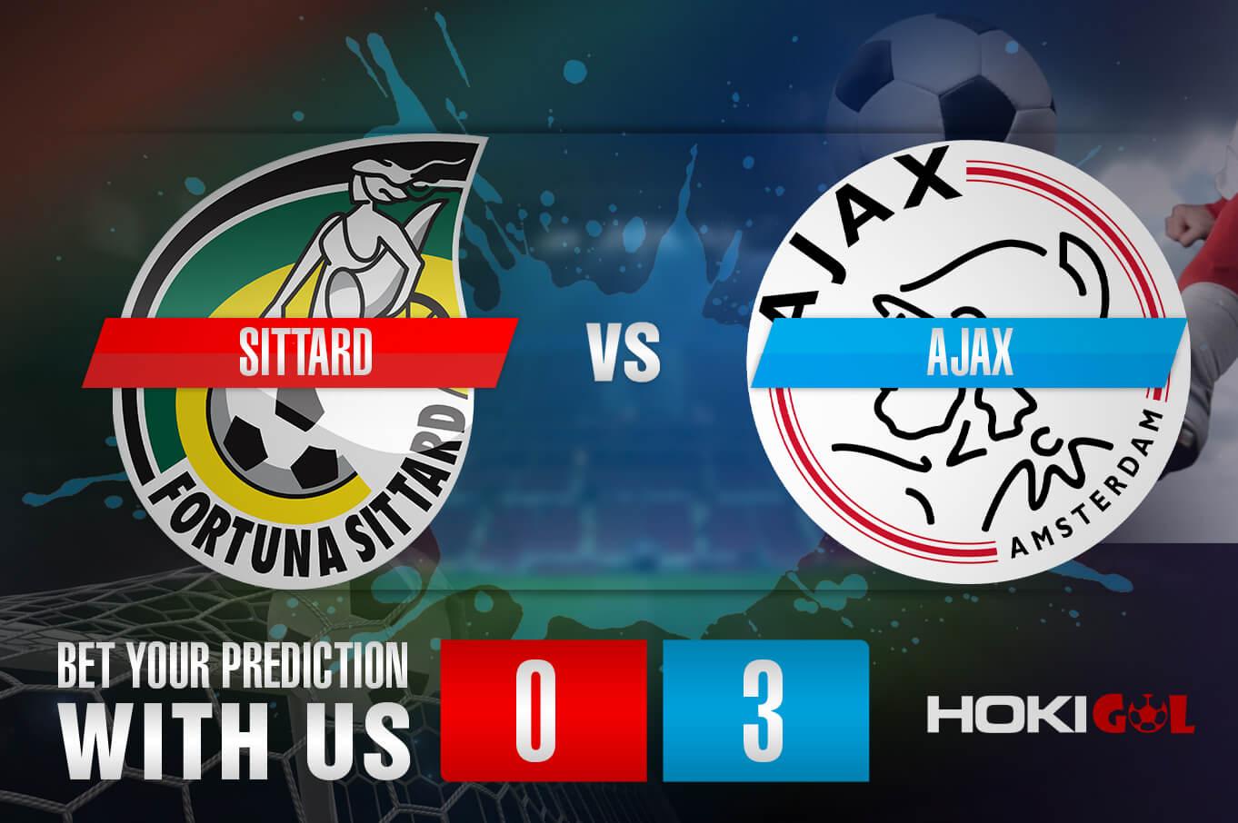 Prediksi Bola Sittard Vs Ajax 24 Januari 2021