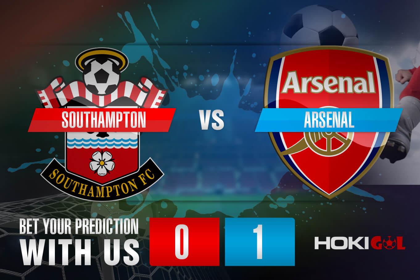 Prediksi Bola Southampton Vs Arsenal 23 Januari 2021