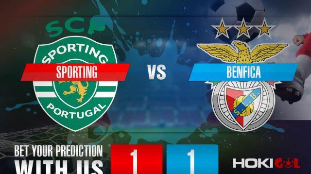 Prediksi Bola Sporting Vs Benfica 2 Februari 2021