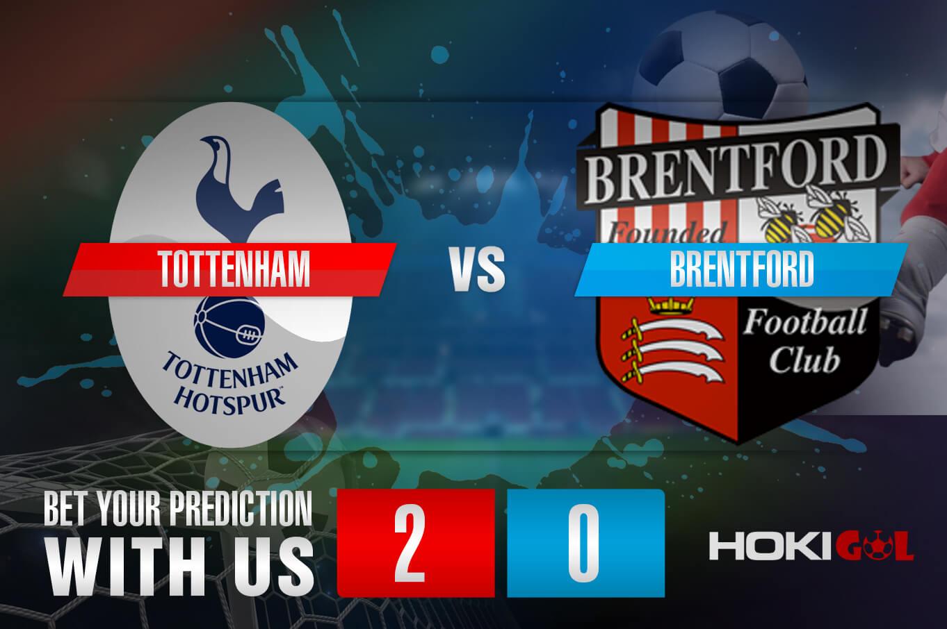 Prediksi Bola Tottenham Vs Brentford 6 Januari 2021