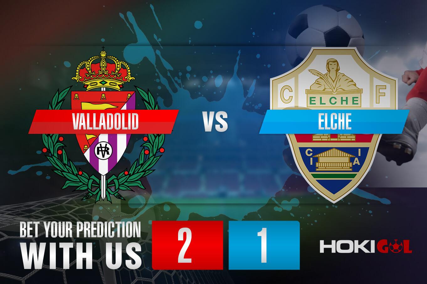 Prediksi Bola Valladolid Vs Elche 20 Januari 2021