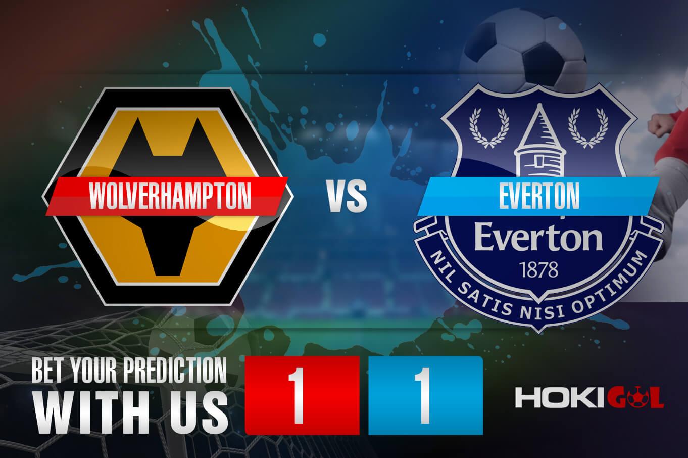 Prediksi Bola Wolverhampton Vs Everton 13 Januari 2021