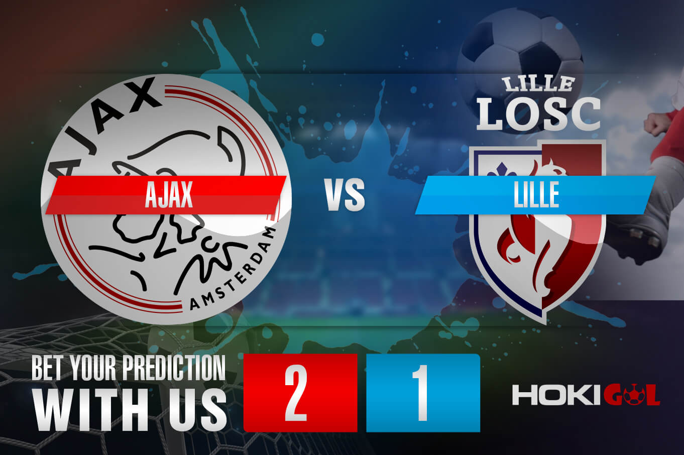 Prediksi Bola Ajax Vs Lille 26 Februari 2021