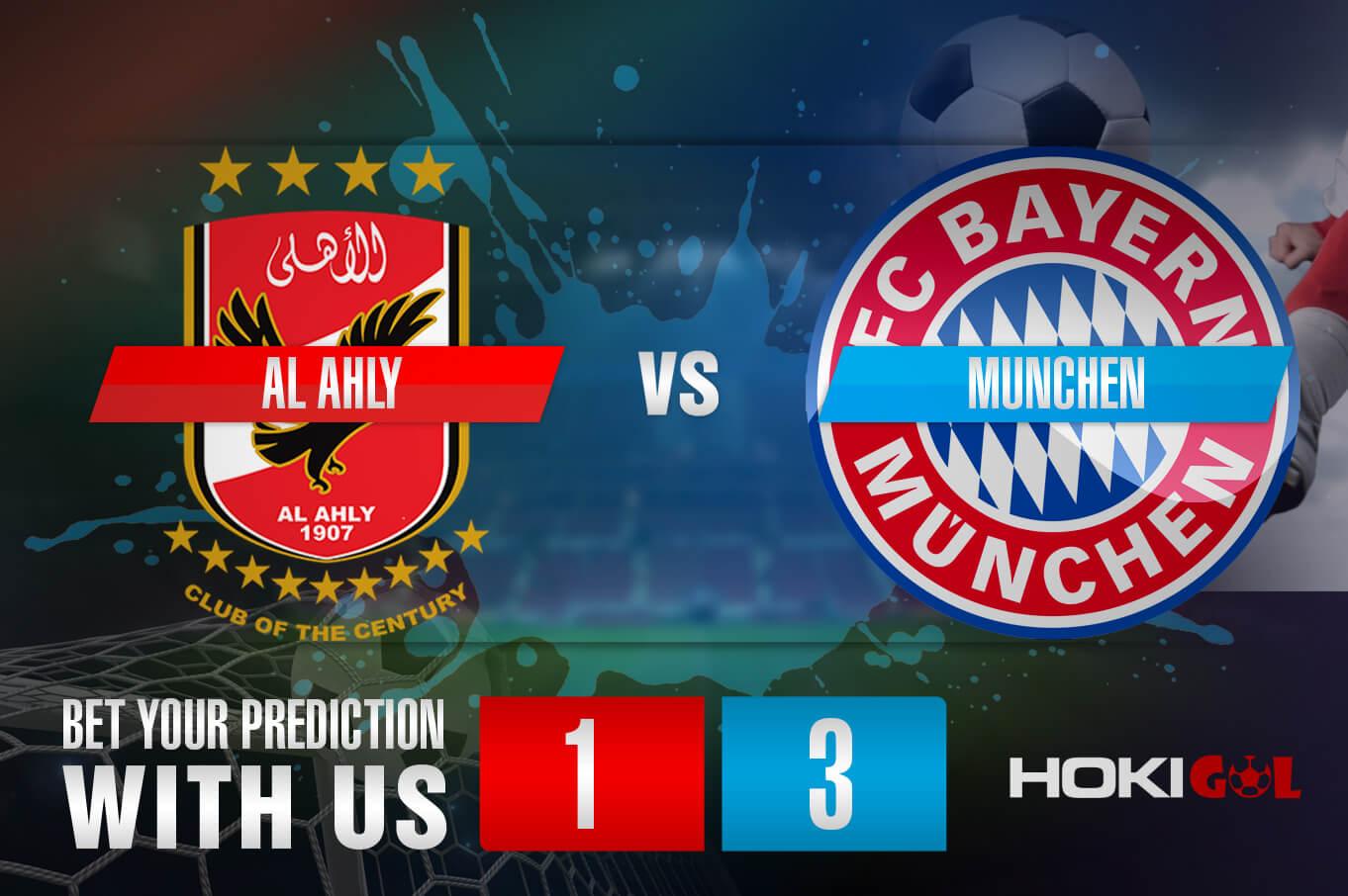 Prediksi Bola Al Ahly Vs Munchen 9 Februari 2021