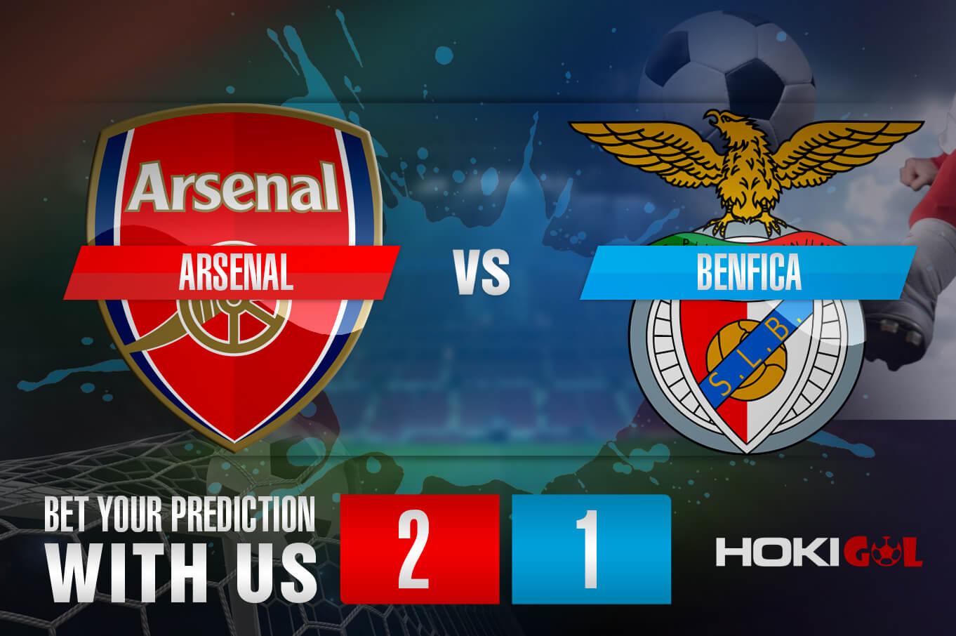 Prediksi Bola Arsenal Vs Benfica 26 Februari 2021