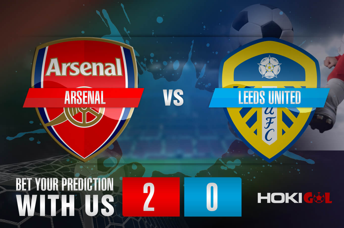 Prediksi Bola Arsenal Vs Leeds United 14 Februari 2021
