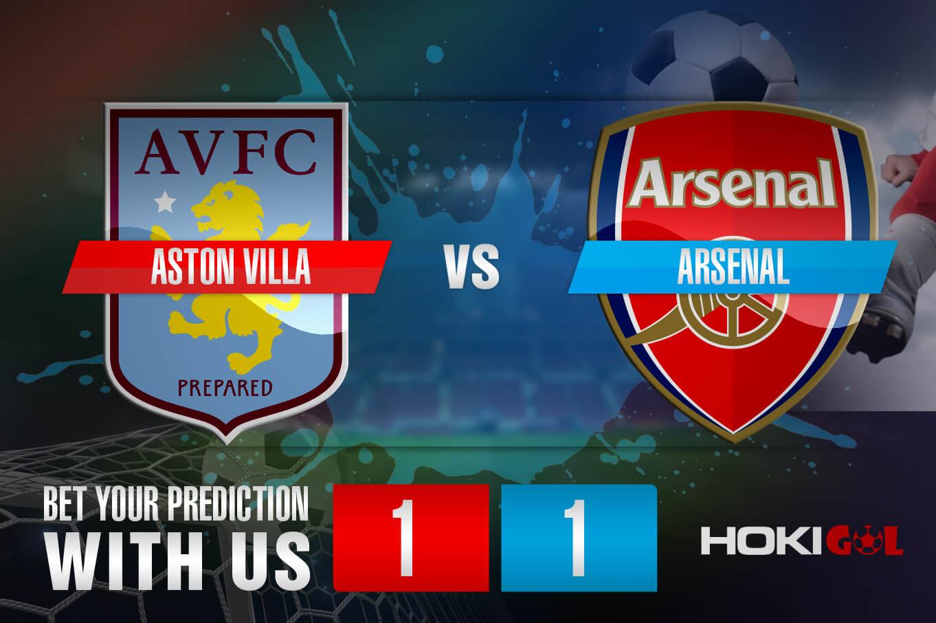 Prediksi Bola Aston Villa Vs Arsenal 6 Februari 2021