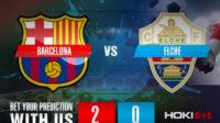 Prediksi Bola Barcelona Vs Elche 25 Februari 2021