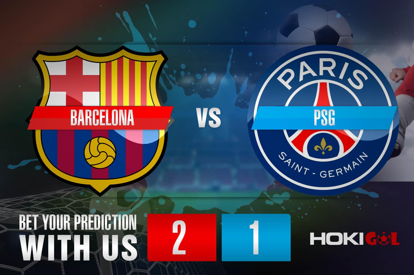 Prediksi Bola Barcelona vs PSG 17 Februari 2021