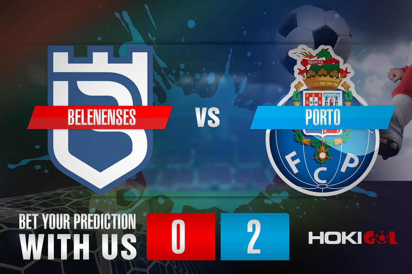 Prediksi Bola Belenenses Vs Porto 5 Februari 2021