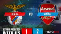Prediksi Bola Benfica Vs Arsenal 19 Februari 2021