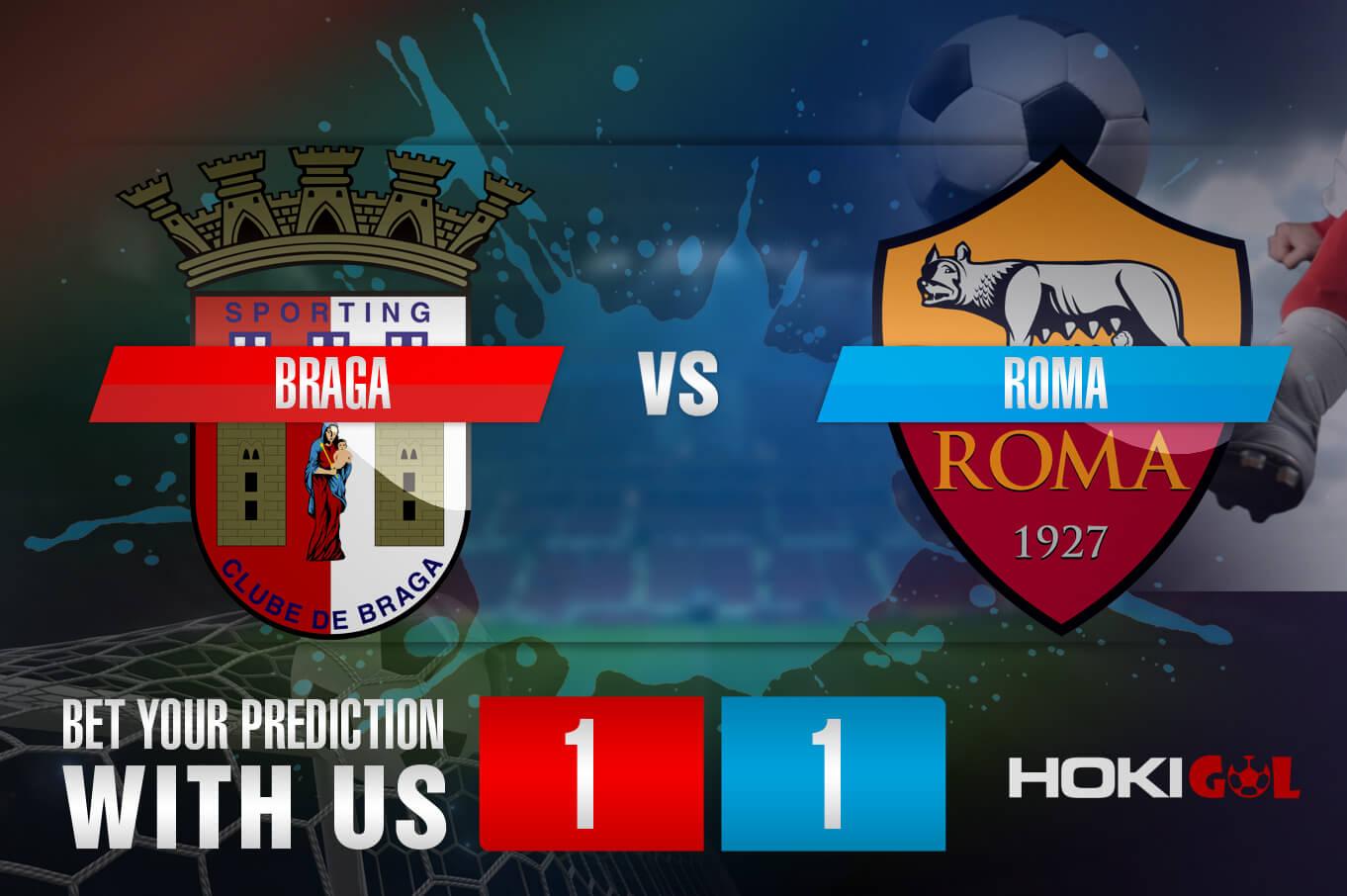 Prediksi Bola Braga Vs Roma 19 Februari 2021
