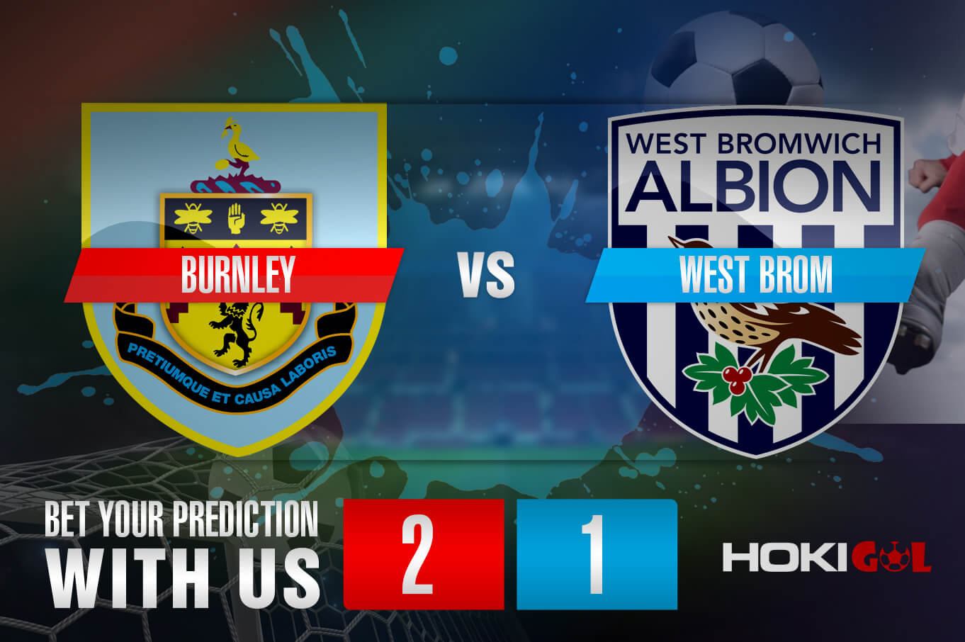 Prediksi Bola Burnley Vs West Brom 20 Februari 2021