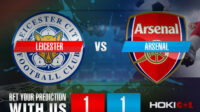 Prediksi Bola Leicester Vs Arsenal 28 Februari 2021