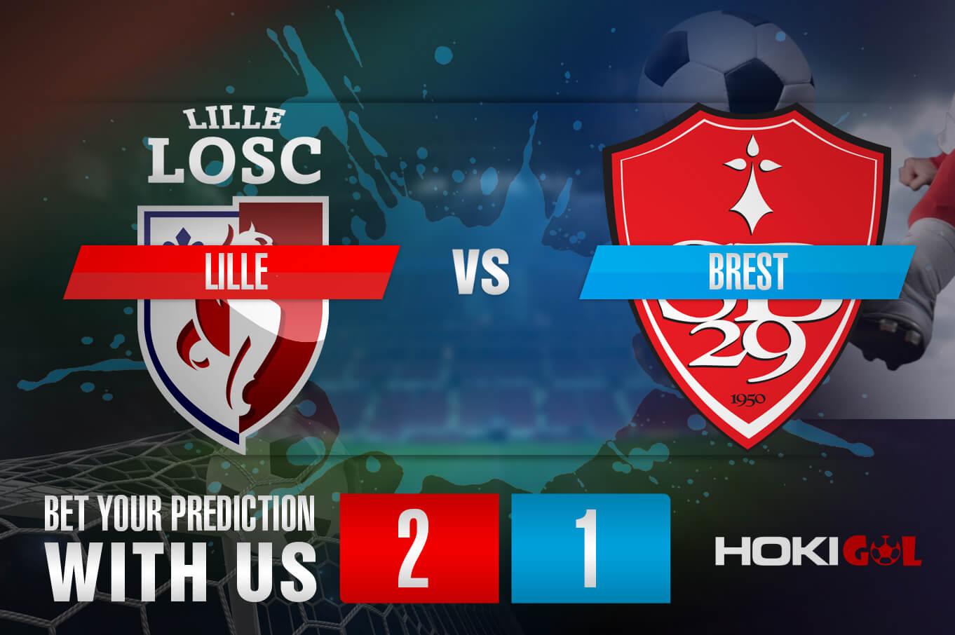 Prediksi Bola Lille Vs Brest 14 Februari 2021