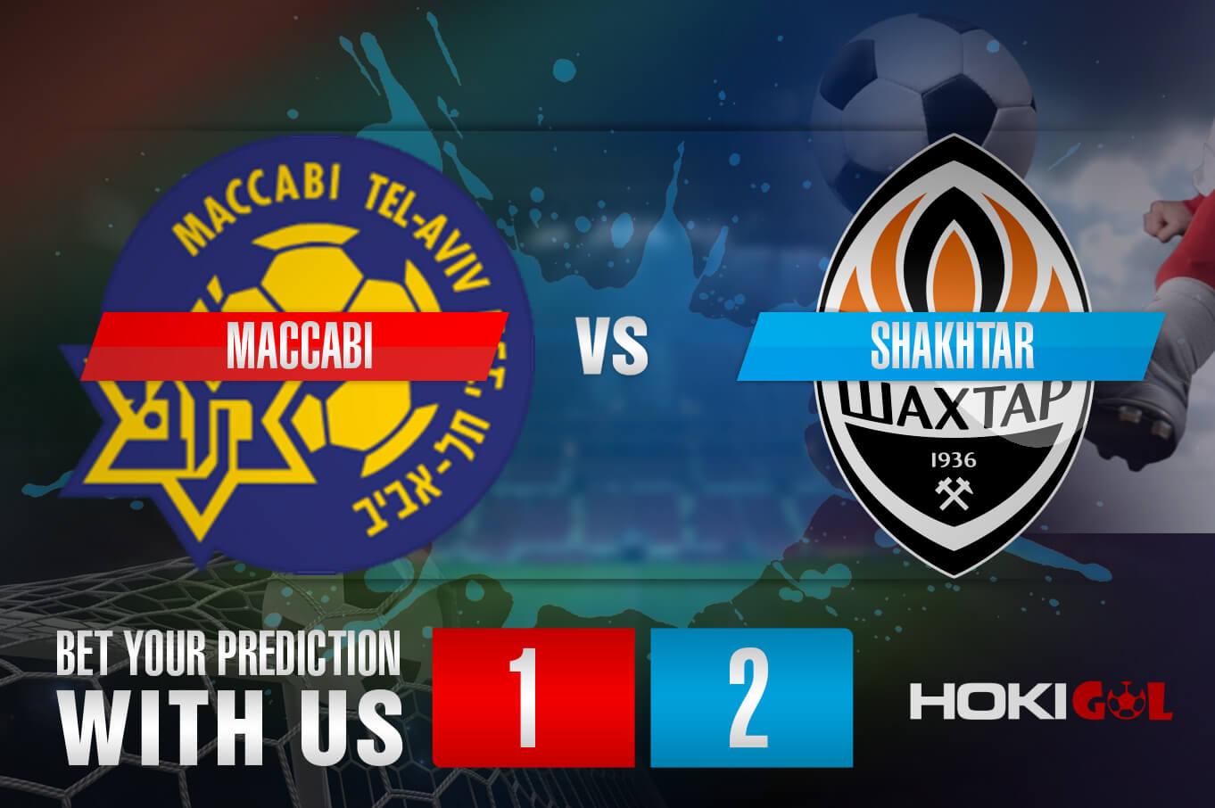 Prediksi Bola Maccabi Vs Shakhtar 19 Februari 2021