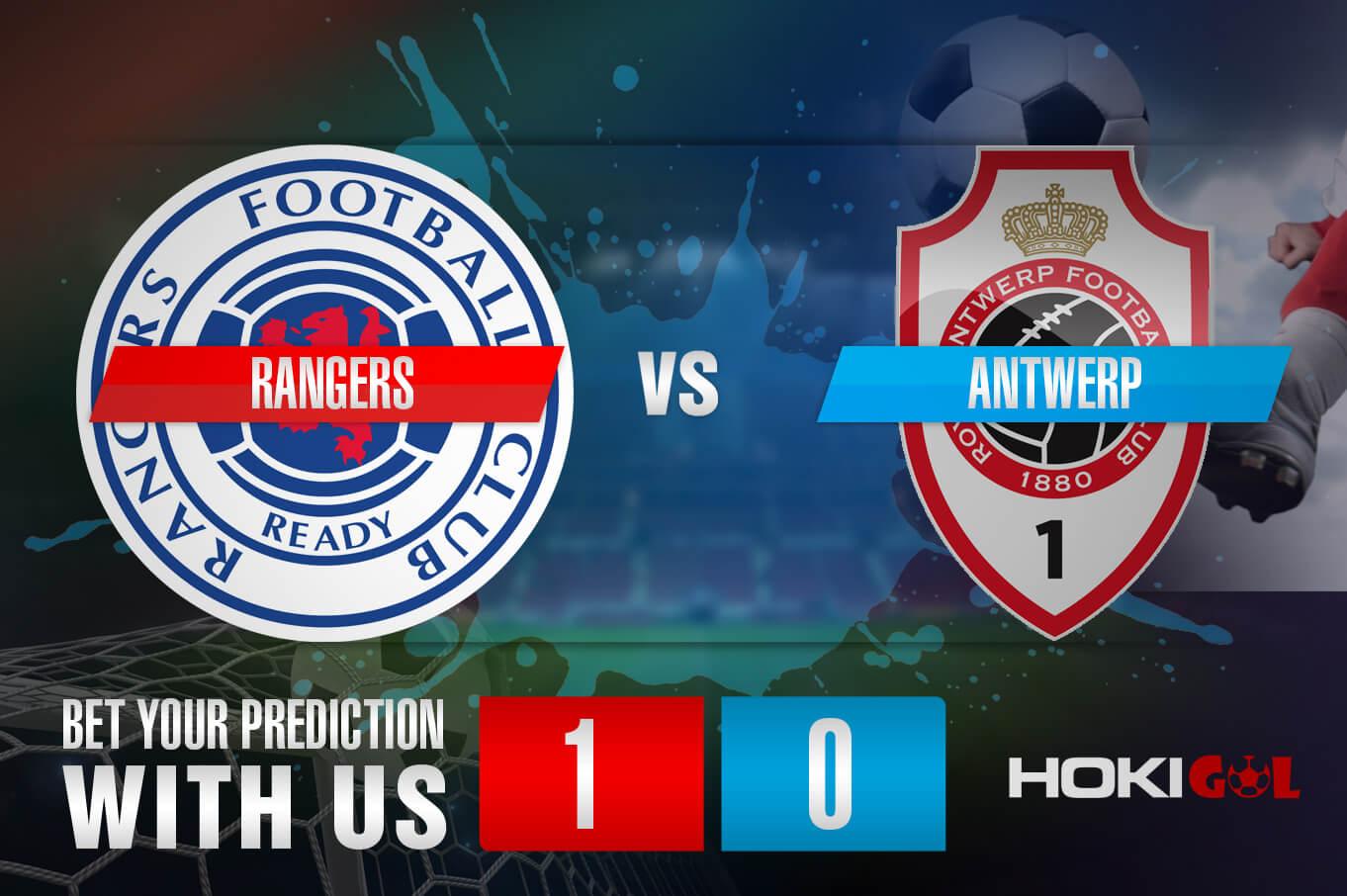Prediksi Bola Rangers Vs Antwerp 26 Februari 2021