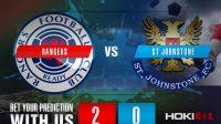 Prediksi Bola Rangers Vs St Johnstone 5 Februari 2021