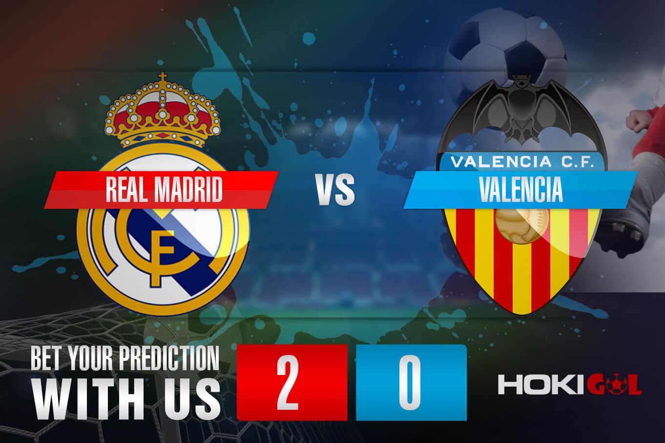 Prediksi Bola Real Madrid Vs Valencia 14 Februari 2021