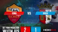 Prediksi Bola Roma Vs Braga 26 Februari 2021